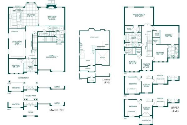 Lot #90 Meadow Marsh Crescent Floorplan