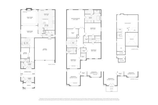 Valleycreek Five Floorplan
