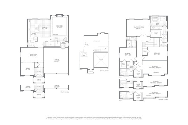 Valleycreek Six Floorplan