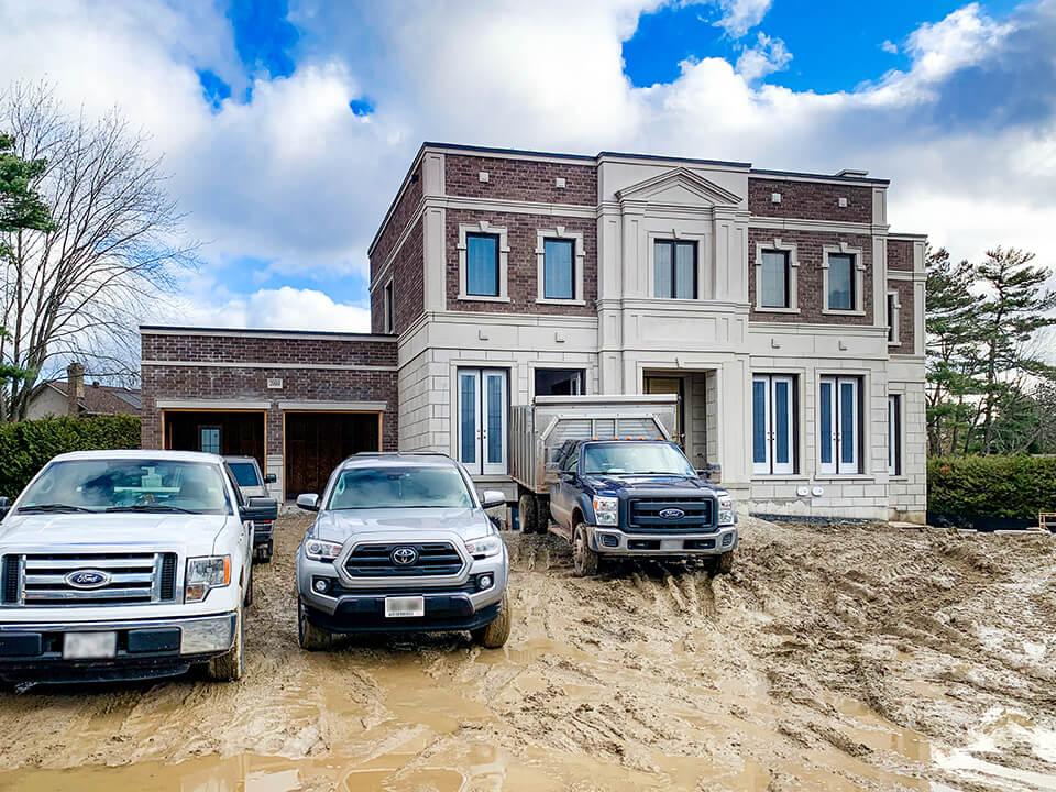 New Oakville Estate Homes