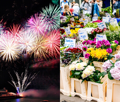 Greenpark Guide to Fireworks and Floral Events in the GTA