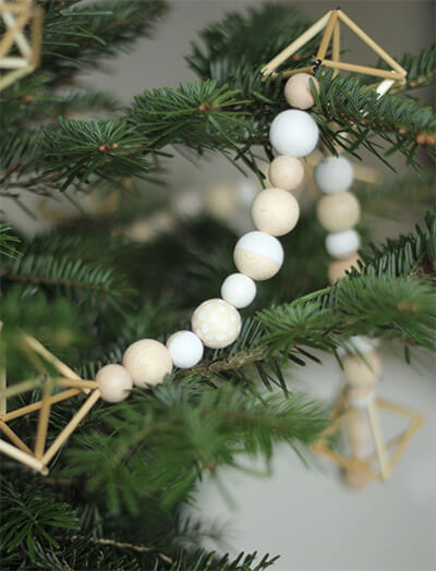 Choose the bare essentials for ornaments