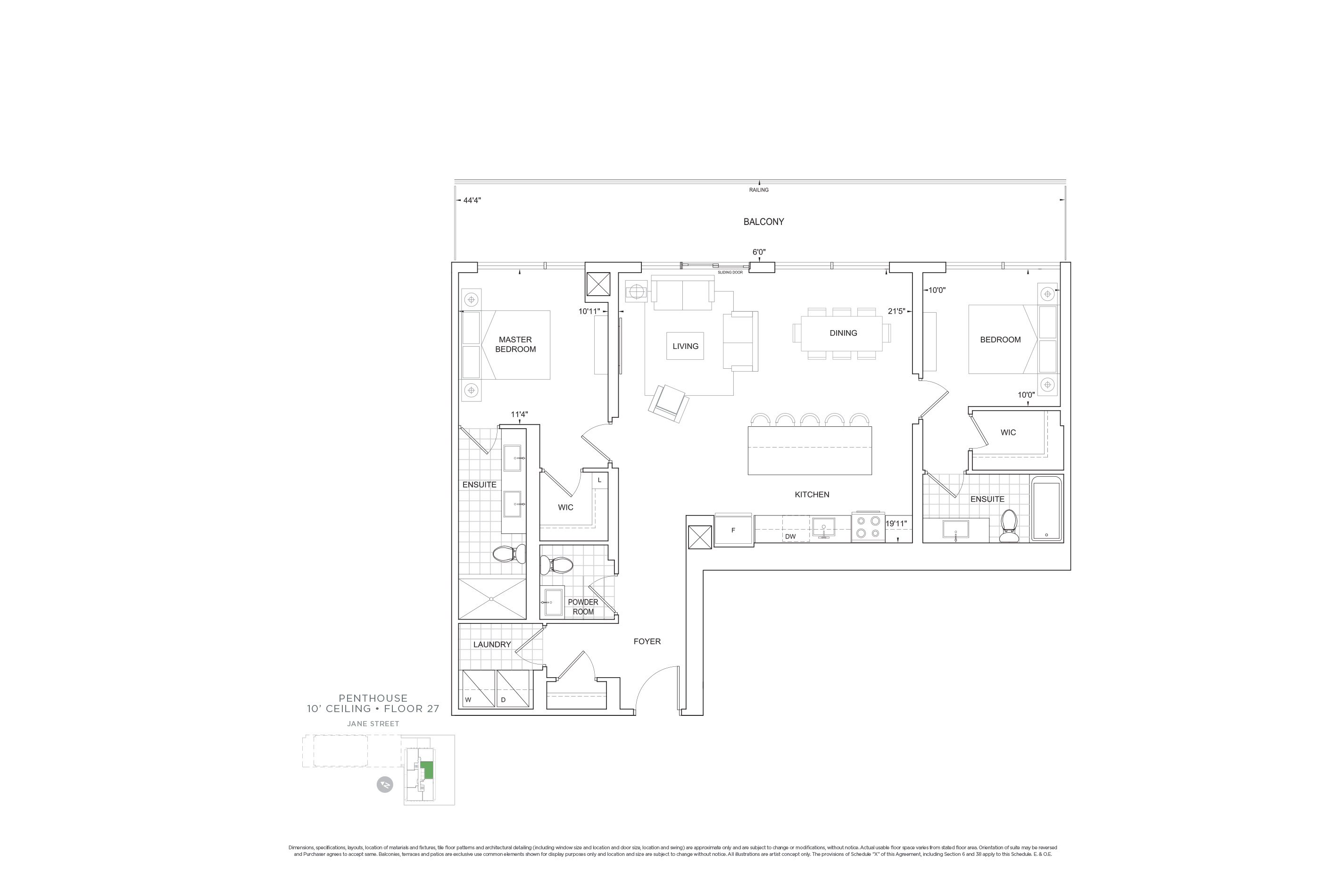 C1204 Penthouse Units