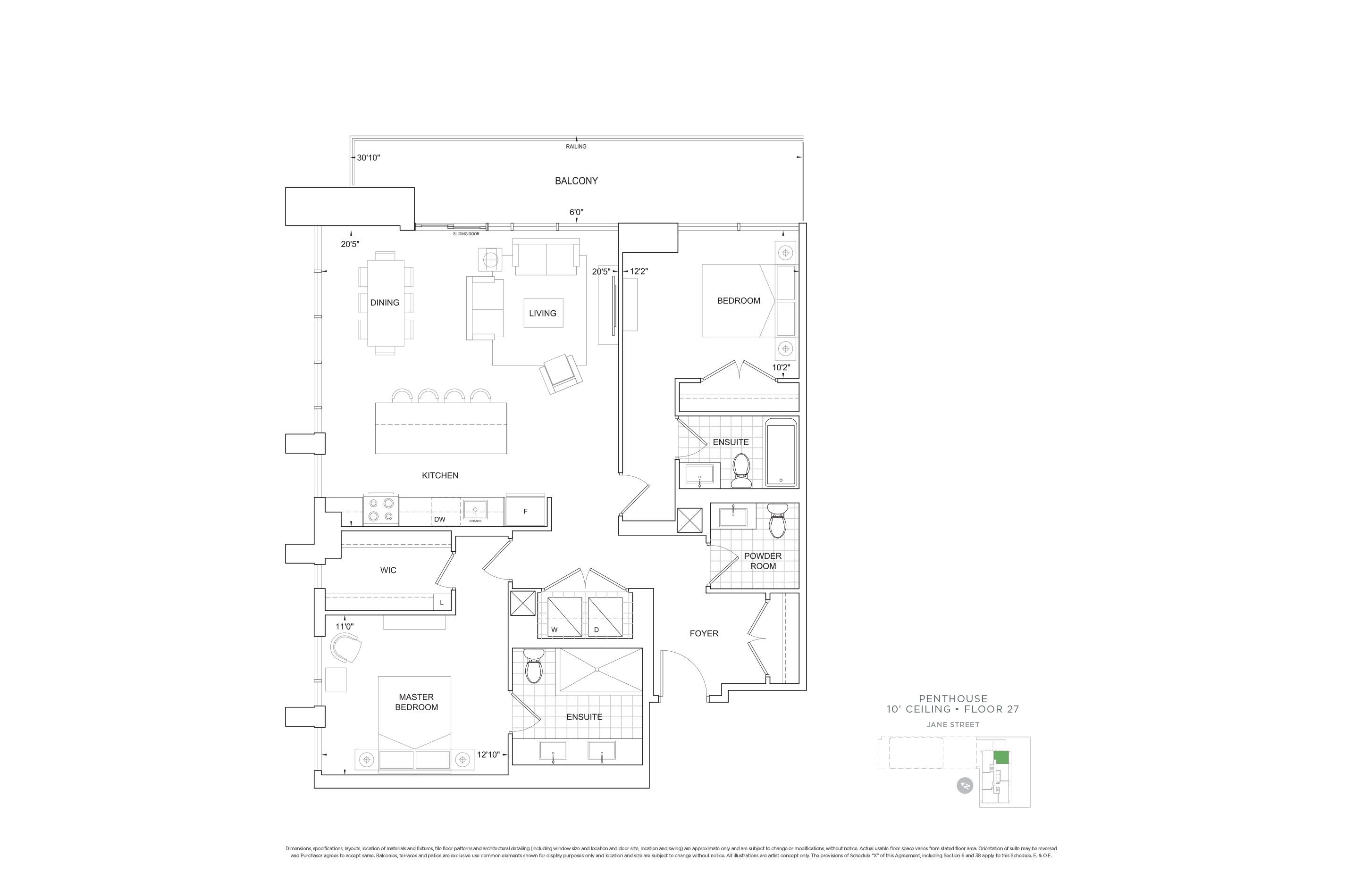 C1248 Penthouse Units