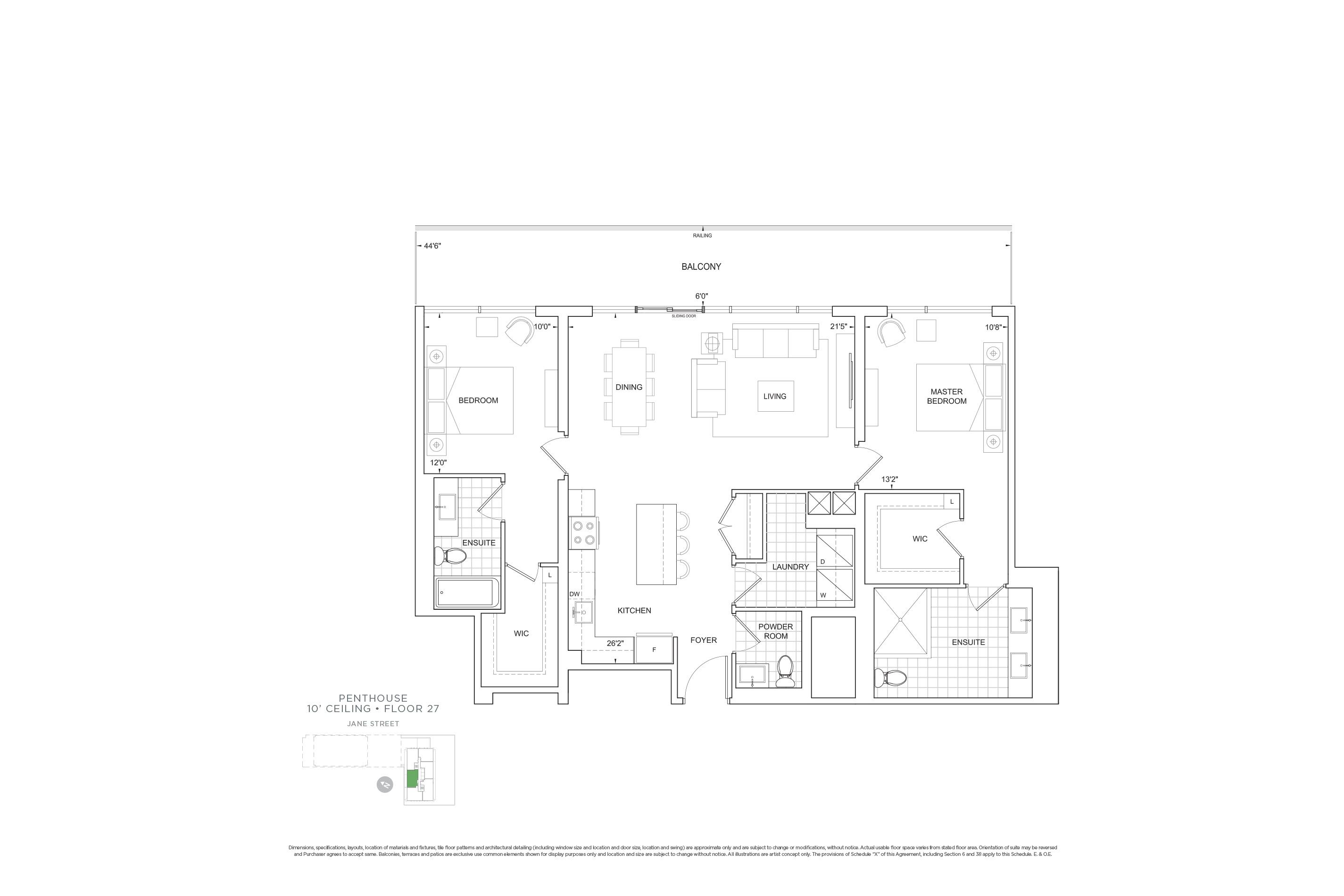 C1288 Penthouse Units
