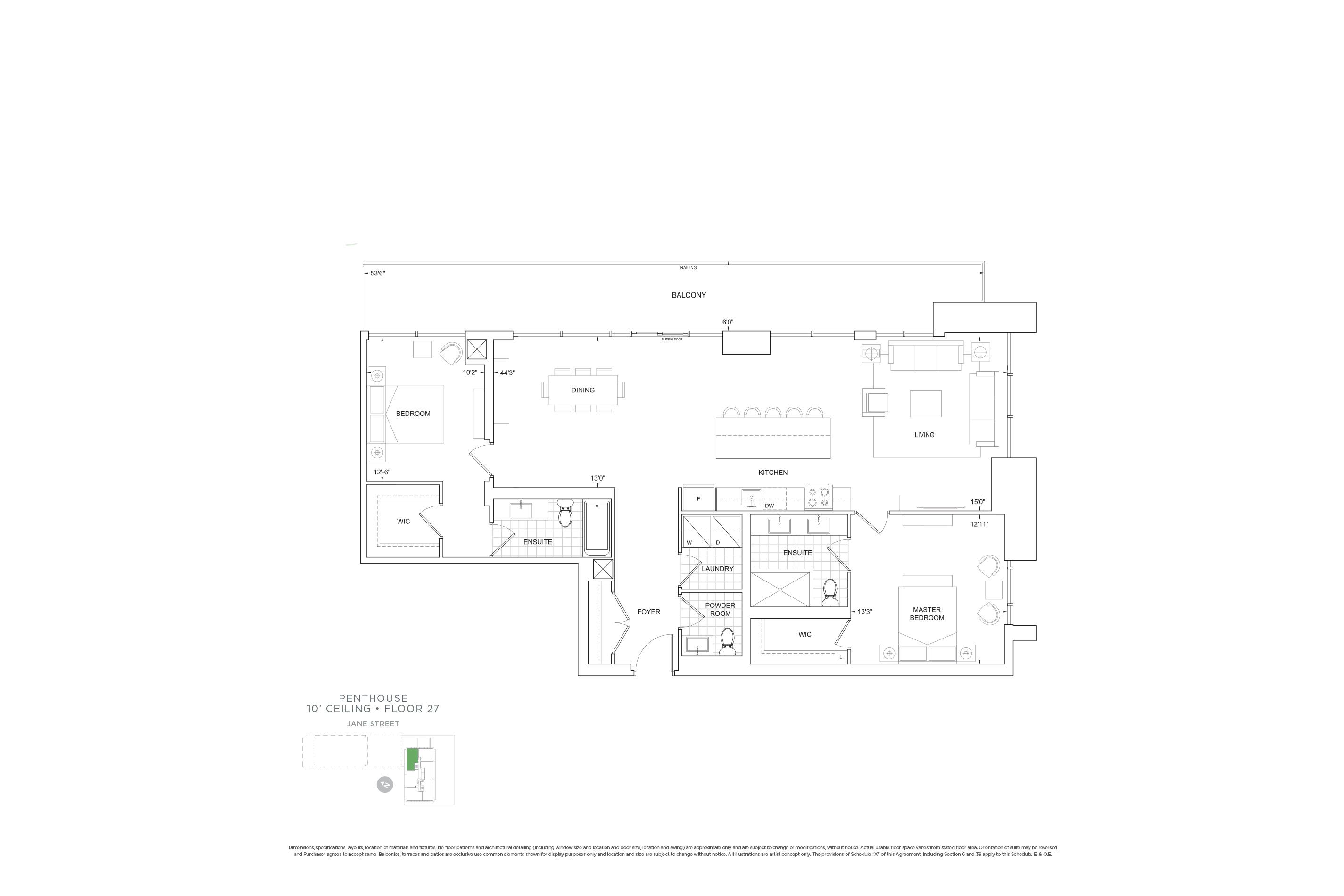 C1504 Penthouse Units