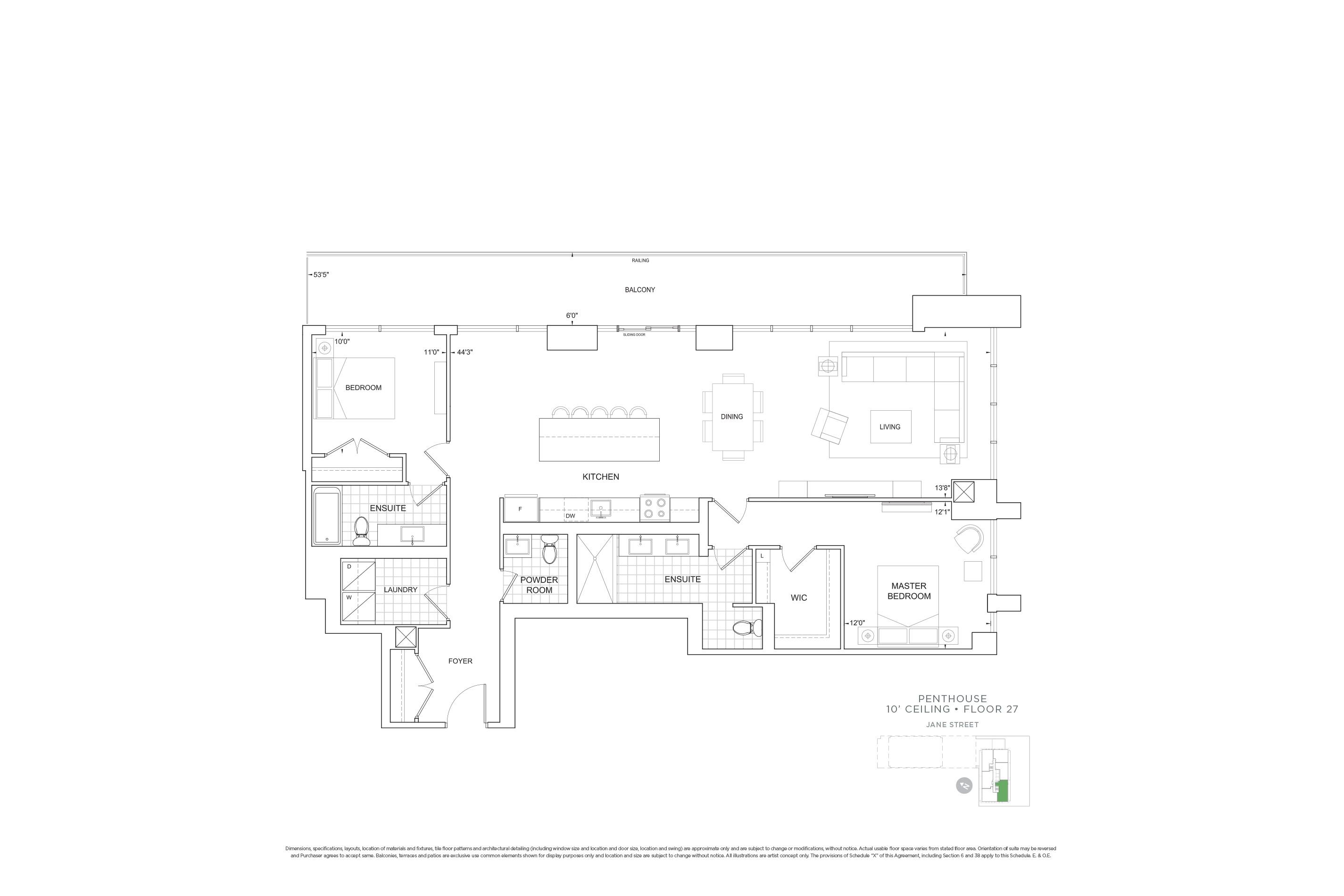 C1555 Penthouse Units