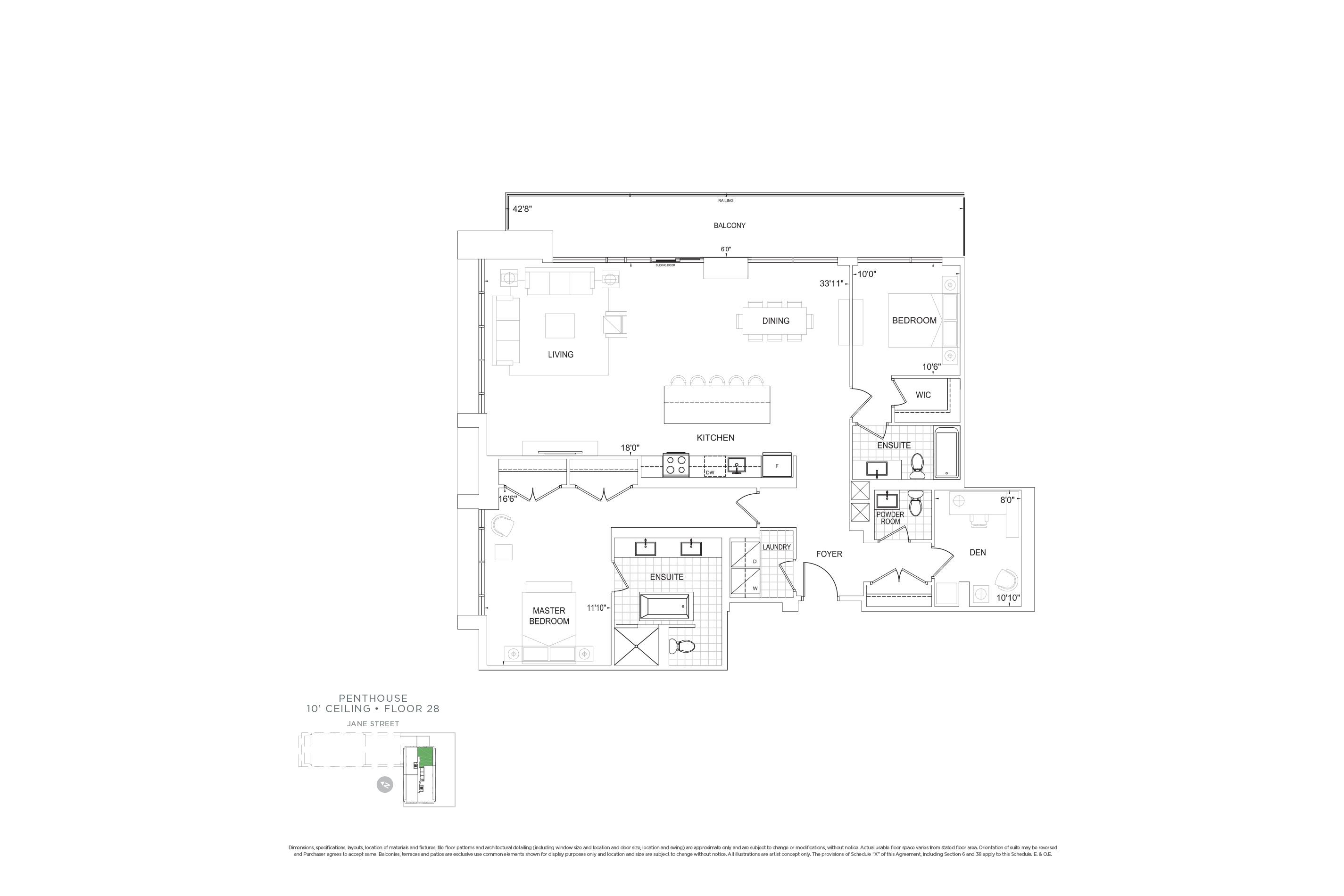 D1704 Penthouse Units
