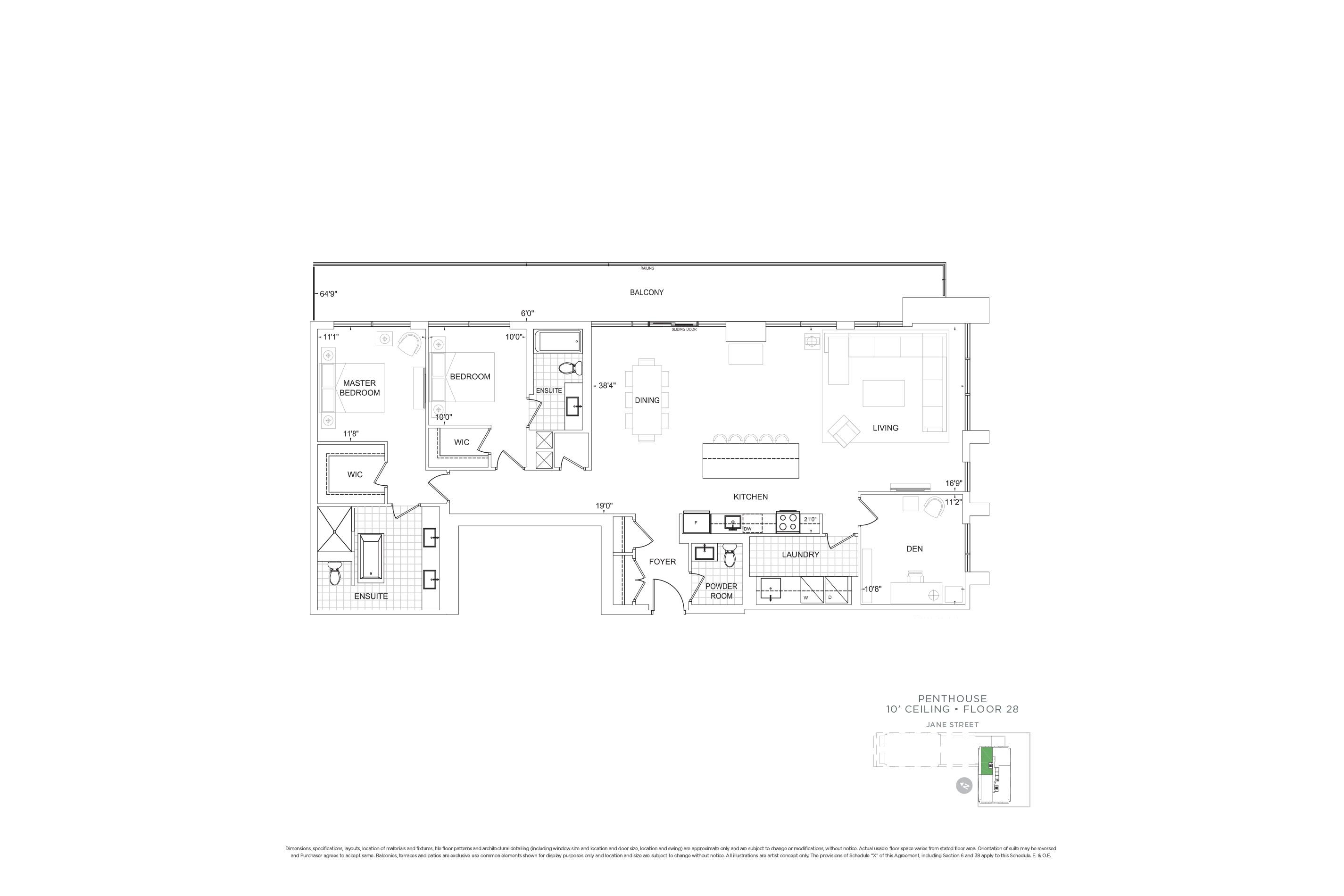 D1881 Penthouse Units