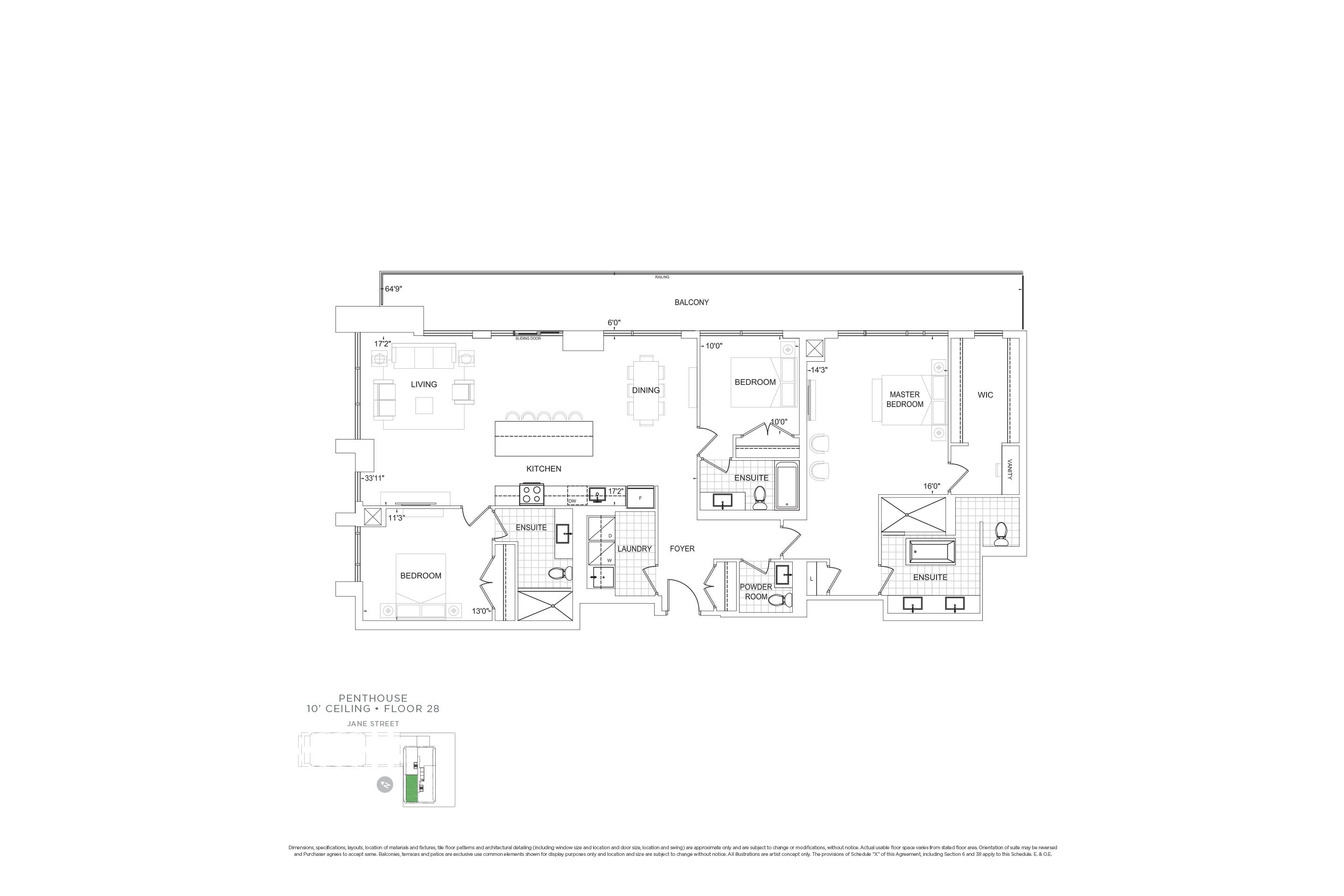 E1948 Penthouse Units