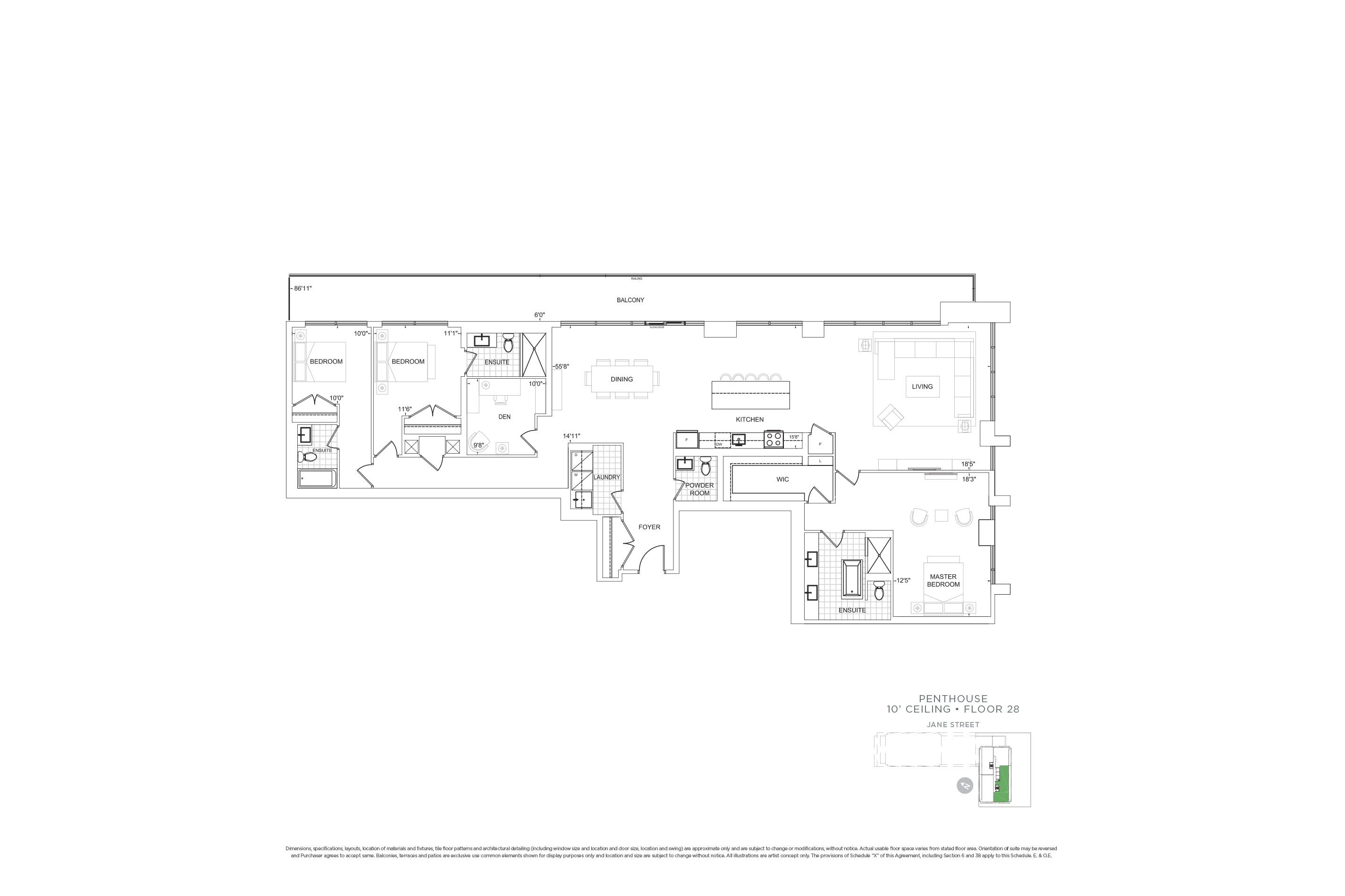 F2703 Penthouse Units