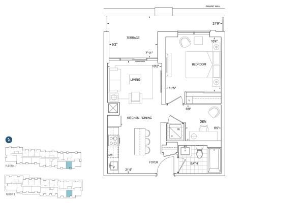 B559 Floorplan