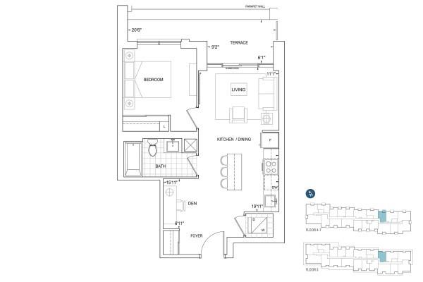 B569 Floorplan