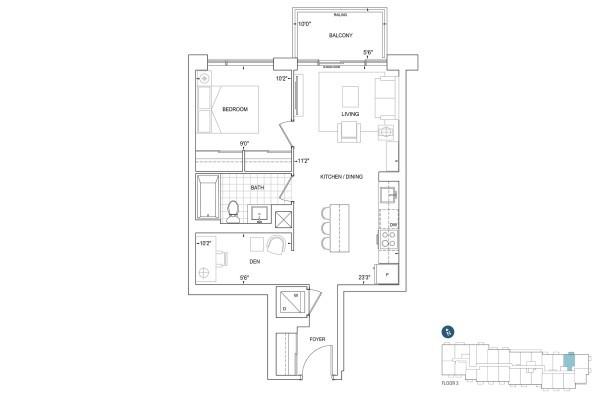 B628 Floorplan