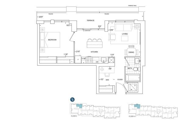B645 Floorplan