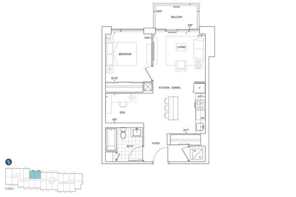 B657 Floorplan