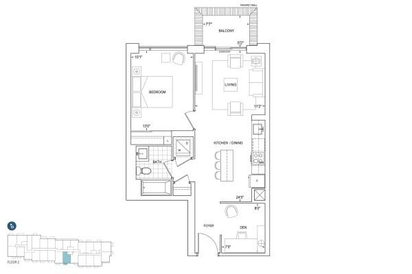 B677 Floorplan