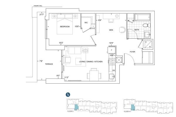 B678 Floorplan