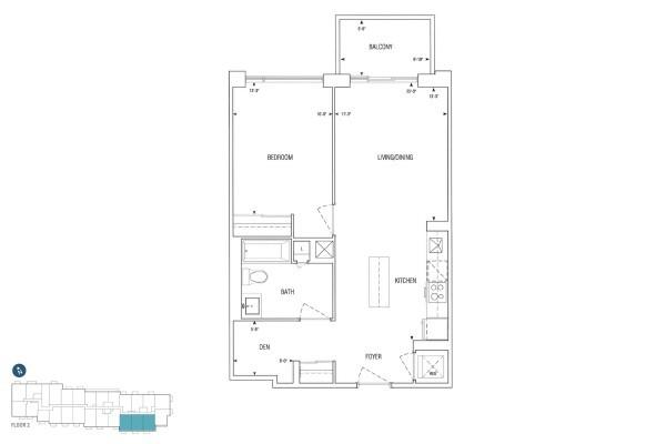 B704 Floorplan