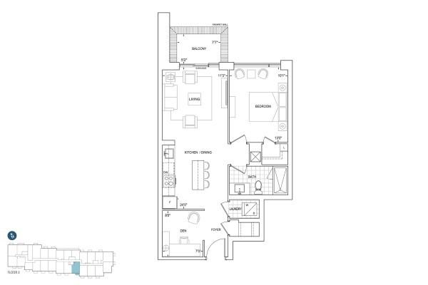 B718 Floorplan