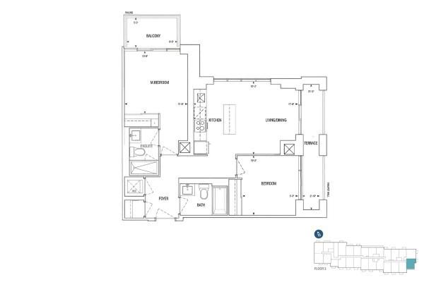 C790 Floorplan