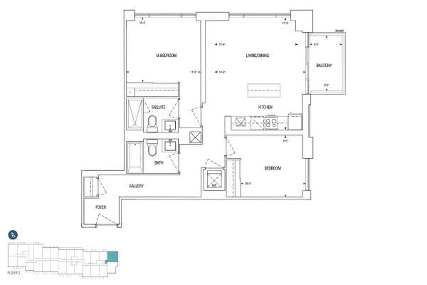 C884 Floorplan