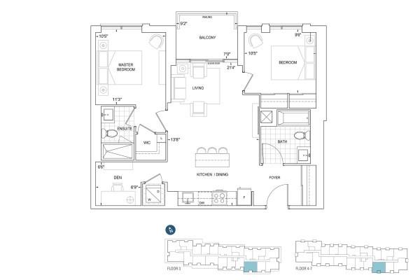 D892 Floorplan
