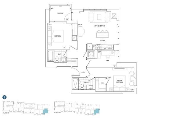 D999 Floorplan