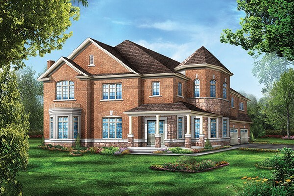 Lot# 24 Meadow March Cresent Elevation 1