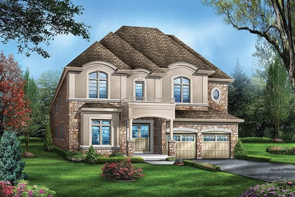 Lot #92 Meadow Marsh Crescent Elevation 3