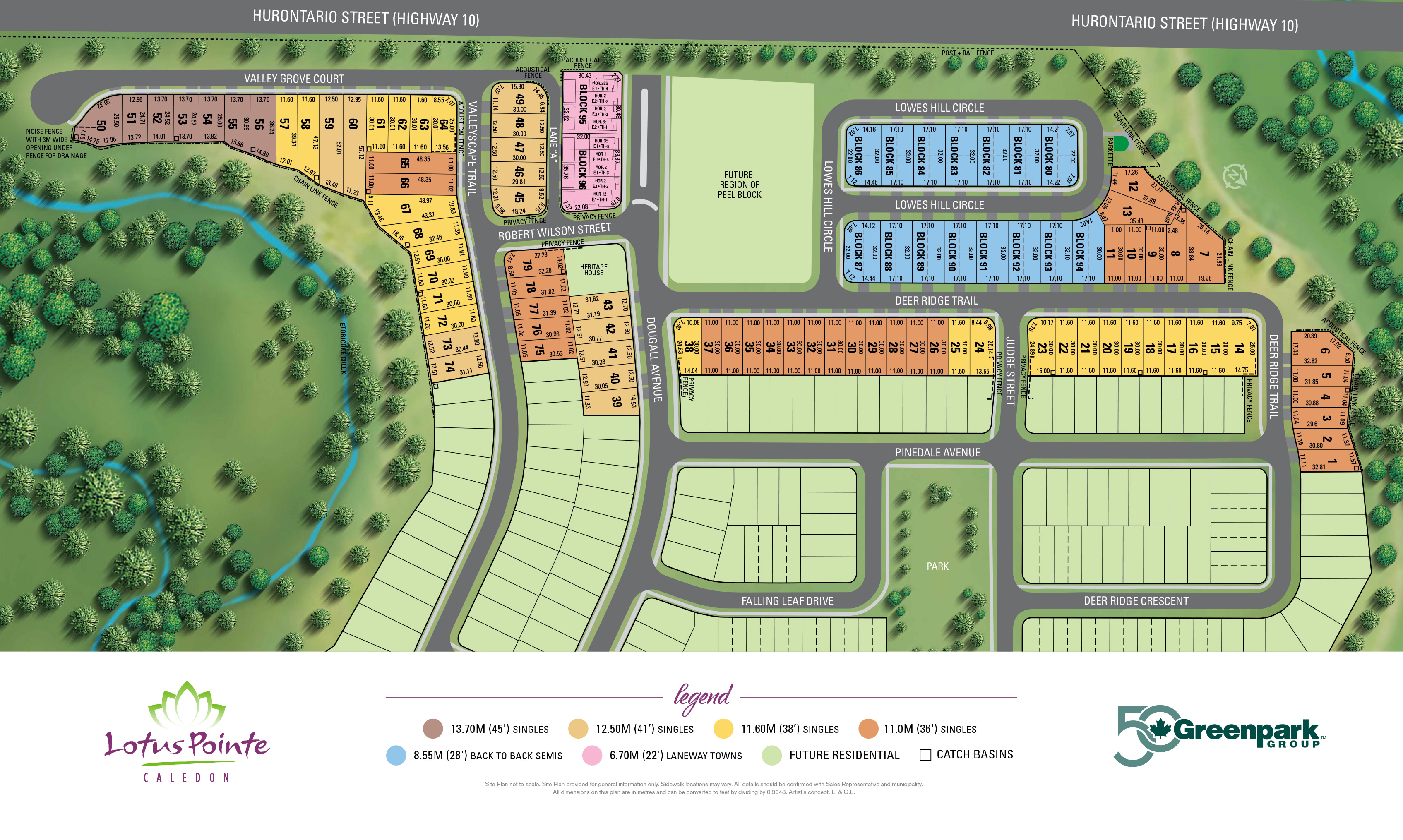 Lotus Pointe Site Plan