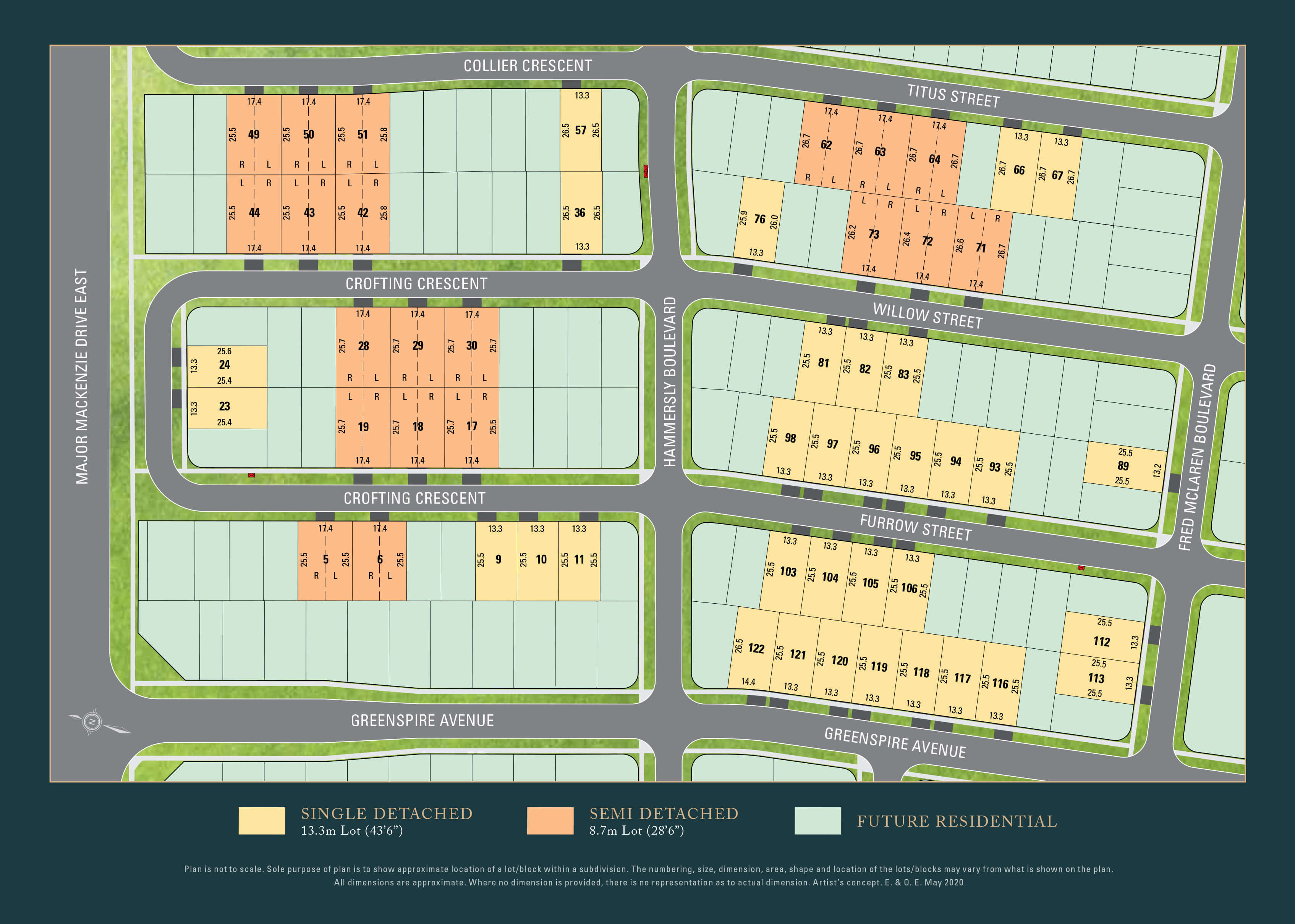 Reesor Ridge Site Plan
