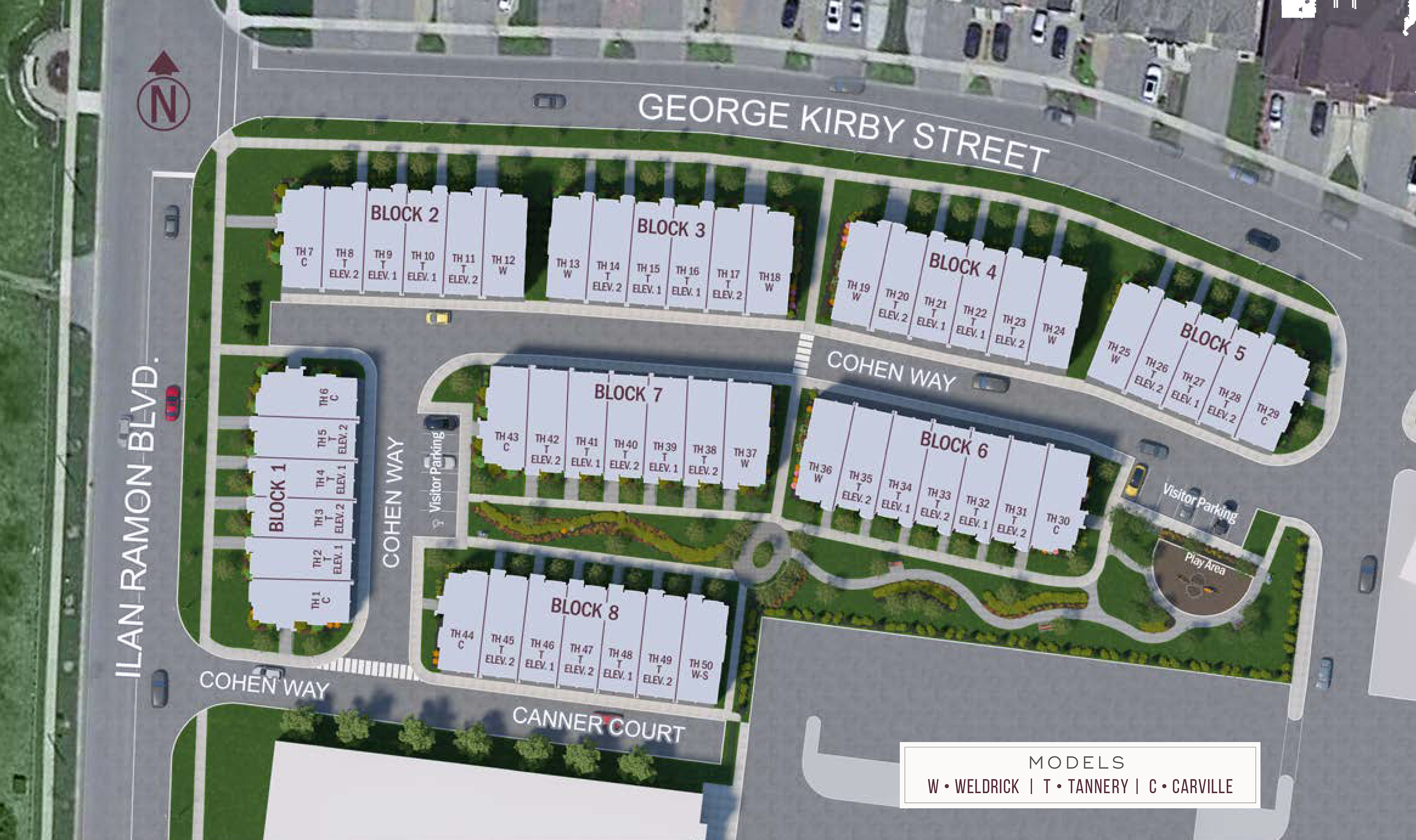 Upside Towns Site Plan